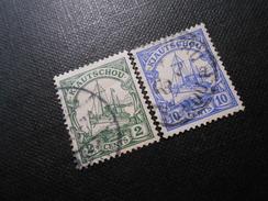 D.R.Mi 19/22 - 2/10C  Deutsche Kolonien (Kiautschou) 1905 - Mi € 8,50 - Colony: Kiauchau