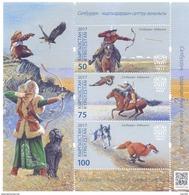 2017. Kyrgyzstan, Salbuurun-traditional Kyrgyz Hunting,  S/s, Mint/** - Kirghizistan