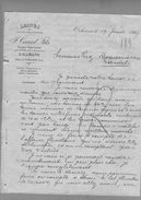 Courrier Laines Canal Fils Tourcoing & Orléans 19-06-1899 - 1800 – 1899
