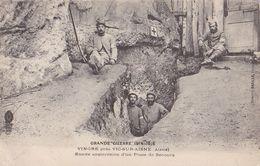 VIC Sur AISNE. Entrée Souterraine D'un Poste De Secours. 1914-1918. - Vic Sur Aisne