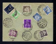 FULDA LAND Germany Reg. Cover 1935  Portugal Funchal Madeira Island Gc2889 - Funchal
