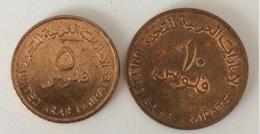 Emirats Arabes Unis 5 Fils Et 10 Fils 2005 - Emirats Arabes Unis