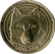 03 ALLIER DOMPIERRE SUR BESBRE LE PAL N°5 LE LOUP MÉDAILLE MONNAIE DE PARIS 2014 JETON MEDALS TOKEN COINS - Monnaie De Paris