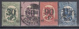 FINLANDIA 1921 Nº 95/98 USADO - Gebraucht