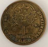 Mauritanie 1 Ouguiya 1974 - Mauritanie