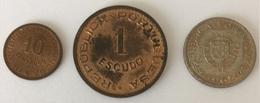 Mozambique 10 Centavos 1960 - 1 Escudo 1962 - 2,5 Escudos 1965 - Mozambique