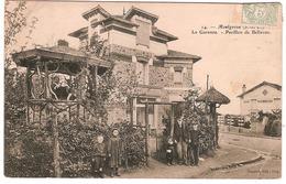 MONTGERON.(S-et-O) LA GARENNE.PAVILLON DE BELLEVUE.(ANIME) - Montgeron