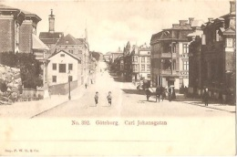CPA - GÖTEBORG - CARL JOHANSGATAN - Edition F.W.H.& Co - Schweden