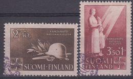 FINLANDIA 1943 Nº 269/70 USADO - Finlandia