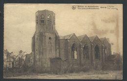 +++ CPA - Ruines De MIDDELKERKE - Guerre 1914-18 - Eglise - Kerk - Nels  // - Middelkerke
