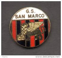 G.S. San Marco Distintivi FootBall Calcio Soccer Spilla Veneto Gradisca D´Isonzo Gorizia - Calcio