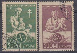 FINLANDIA 1946 Nº 312/13 USADO - Finlandia