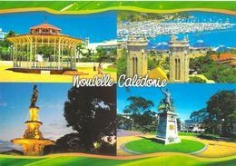 Nouvelle-Calédonie NOUMEA  En  4 Vues (le  Kiosque à Musique (bandstand)) * PRIX FIXE - Nouvelle Calédonie