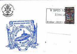 12680  Frégate LATOUCHE-TRÉVILLE - MISSION GRAND-NORD- SPID - Posta Marittima