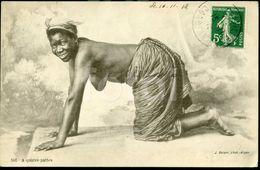 OLD POSTCARD Femme Frau Noir  Seins Nue Nu Nude Breasts Girl  Woman NORTH AFRICA AFRIQUE DU NORD AFRIKA - Afrique