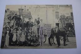 ANCENIS  CAVALCADE DU 4 JUILLET  1909 - Ancenis