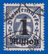 GERMANY WEIMAR 1923 OFFICIAL  MICHEL 96 GOOD USED - Dienstpost
