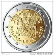 ** 2 EUROS FINLANDE 2005 COMMEMO PIECE NEUVE ** - Finlande