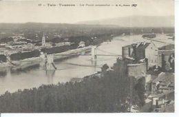 13 - TAIN-TOURNON - LES PONTS SUSPENDUS - France