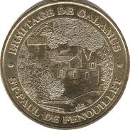 66 PYRÉNÉES ORIENTALES SAINT PAUL DE FENOUILLET ERMITAGE GALAMUS MÉDAILLE MONNAIE DE PARIS 2013 JETON MEDALS TOKEN COINS - Monnaie De Paris