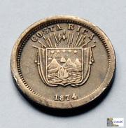 Costa Rica - 1 Centavo - 1874 - Costa Rica