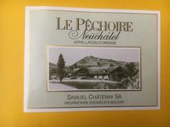 5003 - Le Pêchoire Samuel Châtenay Boudry Neuchâtel Suisse - Etiquettes