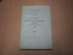 Ieper - Ypres / La Réforme De La Bienfaisance Publique à Ypres - Boeken, Tijdschriften, Stripverhalen