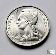 Reunion - 5 Francs - 1955 - UNC - Réunion