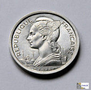 Reunion - 2 Francs - 1948 - Reunión