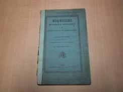Ieper - Ypres / Esquisses Historiques Et Biographiques Sur Les Chatelains Et Vicomtes D'Ypres - Livres, BD, Revues