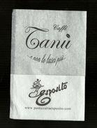 Tovagliolino Da Caffè - Tanu & Esposito 2 - Serviettes Publicitaires
