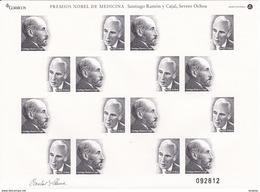 Nº 1 PRUEBA ESPECIAL Nº 1 . PREMIOS NOBEL DE MEDICINA - RAMON Y CAJAL - SEVERO OCHOA - 1931-Hoy: 2ª República - ... Juan Carlos I