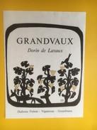 5030 - Grandvaux Dorin De Lavaux Suisse - Etiquettes