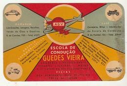Calendar * 1964 * Escola De Condução Guedes Vieira * Portugal - Calendriers