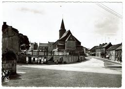 Chapelle-lez-Herlaimont, Place De L'Eglise - Edit. Librairie Voituron - 2 Scans - Chapelle-lez-Herlaimont