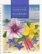 AUSTRALIA 2000, Booklet 129a, Costal Flowers - Markenheftchen