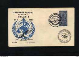 Brasil 1962 World Campaign Against Malaria FDC - Krankheiten