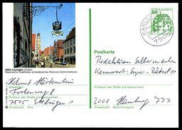 82236) BRD - P 134 - I11/169 - OO Gestempelt 7500 - 8882 Lauingen, Schimmelturm - BRD