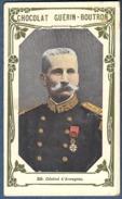Chromo Chocolat Guerin-Boutron Livre D´or Célébrités Contemporaines 366 Général D´Armagnac Guerre De 1870 - Guérin-Boutron