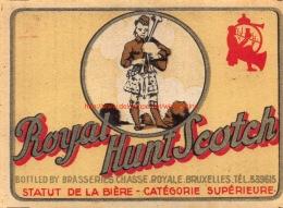 Brasserie De La Chasse Royale - Bruxelles - Royal Hunt Scotch - Bière