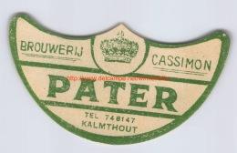 Brouwerij Cassimon - Pater - Kalmthout - Bière