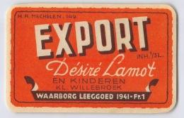 Brouwerij Désiré Lamot En Kinderen - Willebroeck - Export - Bière
