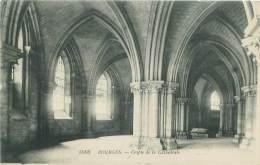 18 -  BOURGES - Crypte De La Cathédrale - Bourges