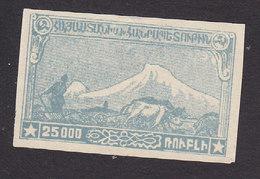 Armenia, Scott #293, Mint No Gum, Mt Ararat, Issued 1921 - Armenia