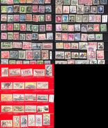 Czechoslovak Stamped Stamp Collection, 134 Pieces (d 385) - Tchécoslovaquie