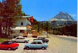 Rifugio - Lago Antorno - Misurina Sulla Strada - Panorama Delle Tre Cime Di Lavaredo - 357 - Formato Grande Non Viaggiat - Trento
