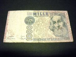 ITALIE 1000 Lires 06/01/1982 , Pick 109 B , ITALY - [ 2] 1946-… : République