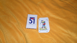 JEU DE 32 CARTES PUBLICITE PASTIS 51. - 32 Cartes