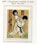 PIA - AUSTRIA - 1975 :  Campionato Mondiale Di Judo A Vienna  -  (Yv  1322) - Lotta