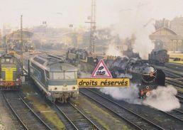 Locos BB 66000, BB 67000 Et Pacific, à Paris-Batignolles (75) - - France